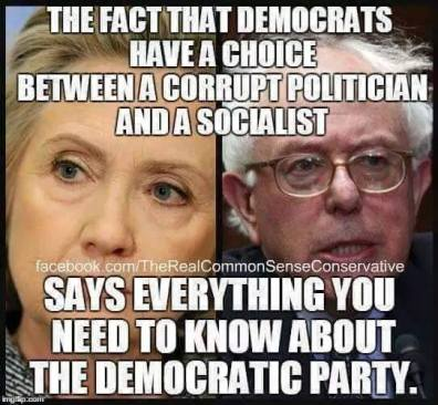 Sanders and Hillary