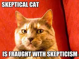 skeptical