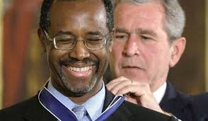 Ben Carson and Bush