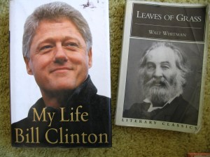 Bill Clinton Leaves of Grass