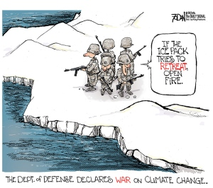 climate change defense