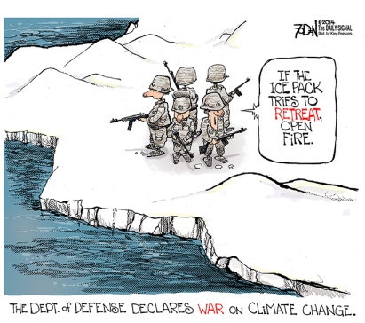 climate change defense