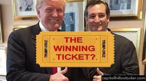 trump cruz ticket two