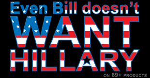 Bill and Hillary poster