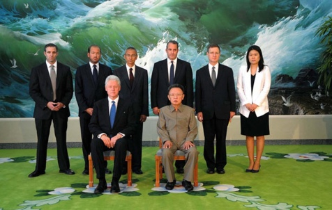 Bill Clinton and North Korea