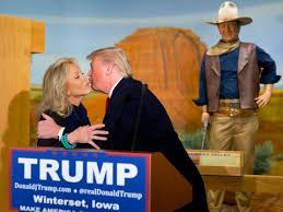 Trump and John
