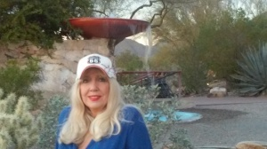 Frank Lloyd Wright's Fountain...and me.