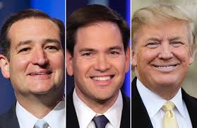 trump rubio and cruz