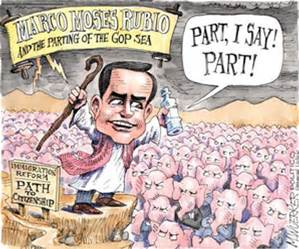 Rubio cartoon