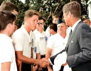 Bill Clinton and JFK