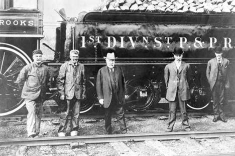 James railroad