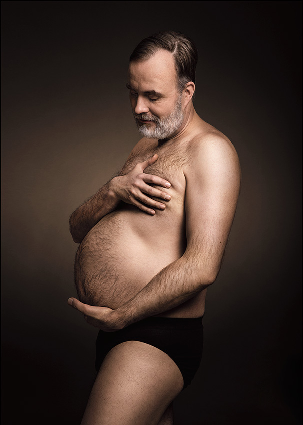 Beer belly, or Demi Moore?