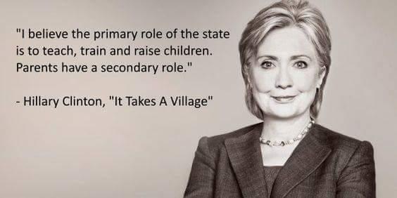 Hillary's village